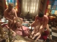 Anal Sex, Antique, Big Tits, Brunette, Classic, Cumshot, Double Penetration, Dyanna Lauren, Facial, Group Sex,