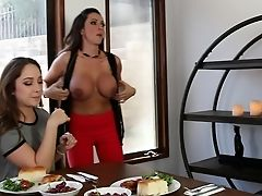 American, Ariella Ferrera, Colombian, Cute, Daughter, Family, MILF, Mom, Remy Lacroix, Stepmom,