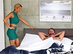 Alexis Fawx, American, Ass, Babe, Bedroom, Blonde, Family, From Behind, Fucking, Girlfriend,