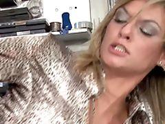 Blonde, Blowjob, Clothed Sex, Fetish, FFM, Glamour, Hardcore, Huge Cock, Hunk, Klarisa Leone,