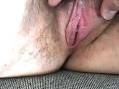 Close Up, Fondling, Hairy, Pussy, Wife,
