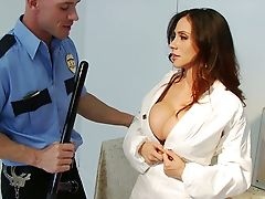 Ariella Ferrera, Big Tits, Blowjob, Brunette, Condom, Doctor, Nurse, Story, Uniform,