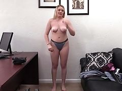 Amateur, Big Tits, Blonde, Bra, Casting, Chubby, Couch, Couple, Cowgirl, Doggystyle,