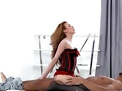 Ass, Big Black Cock, Big Cock, Black, Blowjob, Corset, Cowgirl, Cumshot, Cute, Doggystyle,