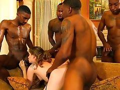 Big Black Cock, Big Cock, Black, Blowjob, Boobless, Brunette, Bukkake, Cowgirl, Cumshot, Cute,