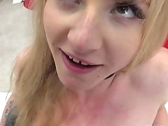 Ass, Beauty, Blonde, Boobless, Casting, Close Up, Cumshot, Fingering, HD, Homemade,
