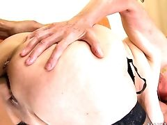 Blonde, Blowjob, Cum In Mouth, Food, Granny, Insertion, Old And Young, Short Haired,
