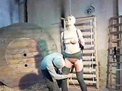 BDSM, Blonde, Bondage, Fetish, Helpless, Maledom, Master, MILF, Moaning, Punishment,