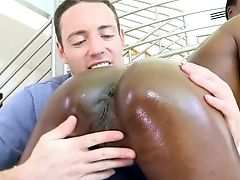 Ass, Big Ass, Black, Boots, Interracial, Oiled, Worship,