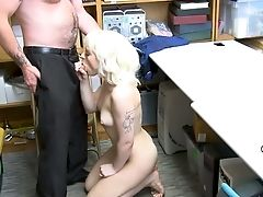Amateur, Blonde, Boots, Cop, Cunt, Desk, Fucking, Horny, Kinky, Licking,