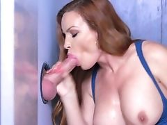 Ass, Big Tits, Blowjob, Cowgirl, Creampie, Diamond Foxxx, Fake Tits, Glory Hole, Hardcore, HD,