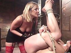 Anal Sex, Ass, Ass Fucking, BDSM, Blonde, Bondage, Cage, Cute, Domination, Fetish,