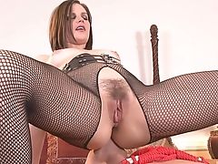 Bobbi Starr, Couple, Femdom, Fetish, Fishnet, Hardcore, Natural Tits, Pantyhose, Pornstar, Pussy,