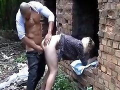 Amateur, Big Cock, Doggystyle, Outdoor,