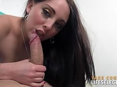 Ass, Blowjob, Couple, Cute, Fingering, Handjob, Hardcore, HD, Long Hair, Natural Tits,