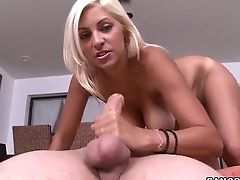 Big Ass, Big Tits, Blonde, Ethnic, Handjob, Hardcore, HD, Kitana Flores, Natural Tits, Teen,