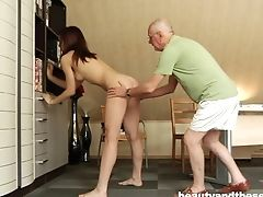 Ass, Couple, Hardcore, Licking, Old, Pussy, Teen, Young,