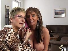 Amateur, Big Tits, Granny, Lesbian, Mature, Old,