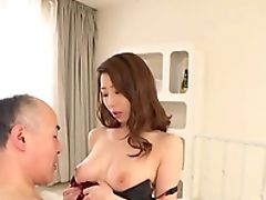 Bedroom, Big Cock, Big Natural Tits, Bra, Couple, Cute, Game, Hardcore, Japanese, Long Hair,