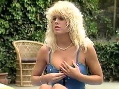 Blonde, Couple, Jamie Summers, Outdoor, Retro,