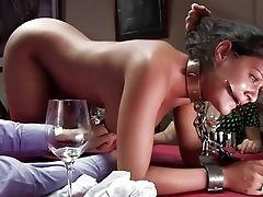 Abuse, Ass, Babe, BDSM, Brunette, Charley Chase, Desk, Domination, Emo, Gangbang,