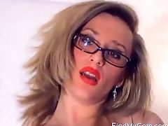 Ass, Big Tits, Clamp, Glasses, High Heels, Masturbation, Model, Nylon, Pantyhose, Pussy,