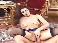 Classic, Cute, French, Karen Lancaume, Pornstar,