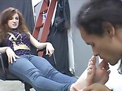 Femdom, Fetish, Foot Fetish, Licking,
