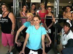 Exhibitionist, Gym, Mature, Sport,