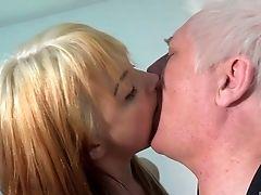 Babe, Blowjob, Couple, Cute, Dick, Handjob, Hardcore, Licking, Long Hair, Missionary,