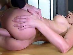 Big Tits, Blowjob, Bukkake, Classroom, College, Cumshot, Deepthroat, Desk, Facial, Fake Tits,