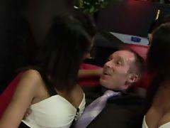 Big Tits, Dick, Hardcore, Striptease, Threesome, Twins,