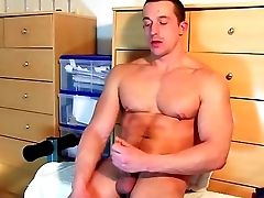 Cum, Cumshot, Dick, Food, Huge Cock, Hunk, Jerking, Massage, Money, Soccer,