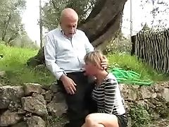 Blowjob, Cumshot, Old And Young,