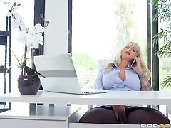 Anal Sex, Ball Licking, Big Tits, Blonde, Blowjob, Clothed Sex, Couple, Cowgirl, Cumshot, Doggystyle,