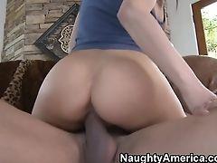 Alexa Nicole, Big Cock, Big Tits, Blowjob, Boobless, Brunette, Facial, Hairy, Handjob, HD,