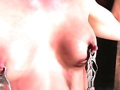 BDSM, Big Tits, Bondage, Brunette, Fetish, Fingering, HD, Sex Toys,