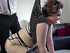 Amateur, Big Cock, Big Tits, Blowjob, Brunette, Chubby, Curly, Domination, Gagging, Handcuffed,