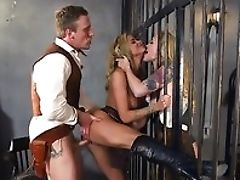Big Tits, Blonde, Blowjob, Competition, Cowgirl, Dick, Doggystyle, Jail, Pussy, Spanking,