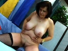 Big Tits, Blowjob, Brunette, Couch, Doggystyle, Mature, Moaning, Natural Tits, Riding, Rough,