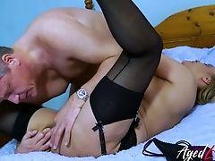 69, Blowjob, Bold, Brunette, Fucking, Handjob, Hardcore, Mature, On Top, Oral Sex,