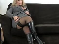 Anal Sex, BBW, Boots, Masturbation, Mature, MILF,