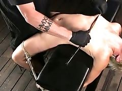 Babe, BDSM, Blonde, Bondage, Nipples, Rough, Slap, Torture,