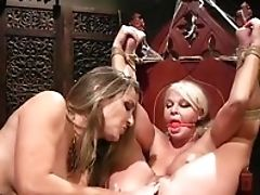 Blonde, Curvy, Dildo, Halloween, Helpless, Humiliation, Kayla Paige, Lesbian, Lezdom, Masturbation,