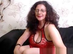 Big Tits, Brunette, Casting, Lingerie, Mature,