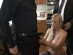 Alexis Fawx, Big Tits, Blonde, Couple, Cuckold, Dick, Fake Tits, Fat, Fingering, Handjob,