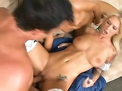 Ashli Orion, Bellezza, Biondo, Bruna, Carino, Hardcore, Horny, Slut, Trio,