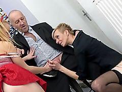 Dick, Granny, Mature, Slut,