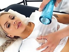 Babe, Beauty, Blonde, Blowjob, Curvy, Doggystyle, Fake Tits, Fetish, Hardcore, HD,