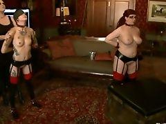 BDSM, Fetish, Group Sex, Krysta Kaos, Nerine Mechanique,